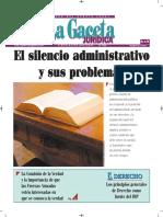 El Silencio Administrativo y Sus Problemas - Autor José María Pacori Cari