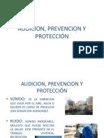 Audicion, Prevencion y Protección