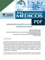 Aproximacion Diagnostica Al Paciente Con Lupus Eritematoso Sistémico