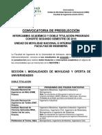 Convocatoria_Intercambio Académico y Doble Titulación_Cohorte 2018-2_Fac. Ingeniería