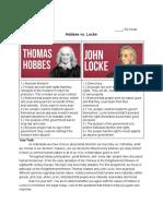 Hobbes Locke Essay (1)