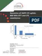 Dynamics of 3gpp Lte Uplink