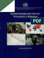 Epidemiologia Del Cancer Principios y Metodos