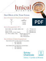 HeatEffects of the TronaSystem