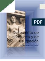 EL ESPÍRITU DE CONQUISTA ... (1)