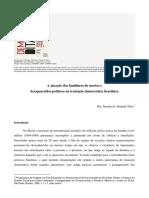 A atuação dos familiares de mortos e desaparecidos políticos na transição democrática brasileira