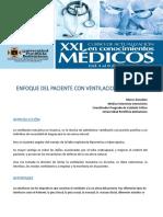 Enfoque Del Paciente Con Ventilacion Mecanica No Invasiva