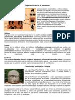 Organización Social de Los Aztecas