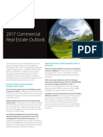 Trends of Real Estate Outlook-Deloitte 2017