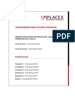 Cronograma IPLACEX