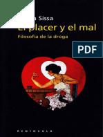 Giulia Sissa- El placer y el mal-Filosofía de la droga.pdf