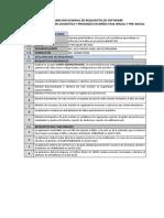 Declaracion General de Requisitos de Software
