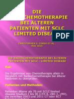 Die Radiochemotherapie Bei Älteren Patienten Mit SCLC Limited