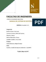 Manual Del Sistema de Gestión Ambiental