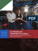 Las pruebas que comprometen a Humala