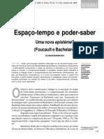 Elyana Barbosa_Espaço-tempo e poder-saber_Um nova epistéme_Foucault e Bchelard.pdf