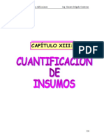 4. Cuantificación de Materiales