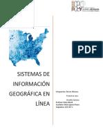 Sistema de información geograficas online