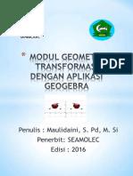 Modul Transformasi Geometri