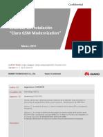 Estandar de Instalacion Claro GSM Modernization V1.2_20150710