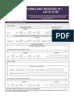 Formulario Registral N_ 1 SMP