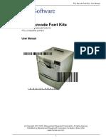 Pcl Font Manual
