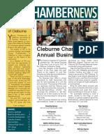 September 2017 Cleburne Chamber of Commerce News