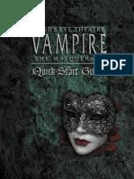 Minds Eye Theatre Vampire the Masquerade Quickstart Guide