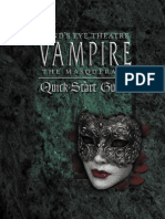 Minds Eye Theatre Vampire the Masquerade Quickstart Guide
