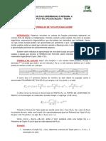 Formulas de Taylor e Maclaurin - 2016