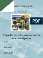 (2) Proyecto de Investigación