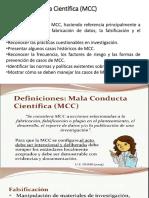 Mala Conducta Científica MCC
