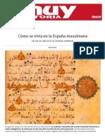 Cómo se vivía en la España musulmana