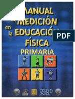 Manual de Medición en La Educación Física PRIMARIA