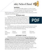 band sign up form pdf