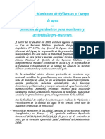 Protocolo de Monitoreo de Efluentes y Cuerpo