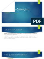 Muestreo Geologico