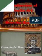 0. Introducción Derecho Romano 1