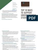 top ten ways to support  ef4c org