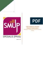 5 User Manual Aplikasi Pendaftaran Jenjang Spesialis PPDS