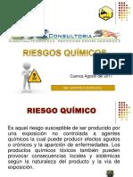 Presentación de Riesgos Quimicos ING SANTIAGO MOROCHO