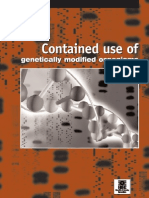 Contained Use of Genetically Modified Organisms