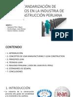 Estandarización de Procesos Diapositivas