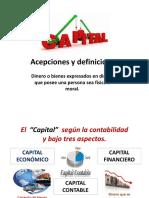 CAPITAL_Acepciones y Definiciones