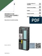Sinamic g120 CU240B_E