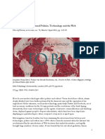 STALLABRASS, Julian - Digital Partisans -Cultural Politics, Technology and the Web