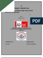 Bharti Airtel Limited Hrm