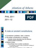 Constitution of Athens (História)