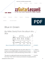 Blue in Green_ Chord Melody for Jazz Guitar (W_ VIDEO)