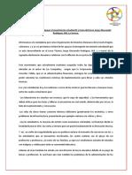 Declaración Pública en Apoyo Al Movimiento Estudiantil y Toma Del Liceo Jorge Alessandri Rodríguez JAR